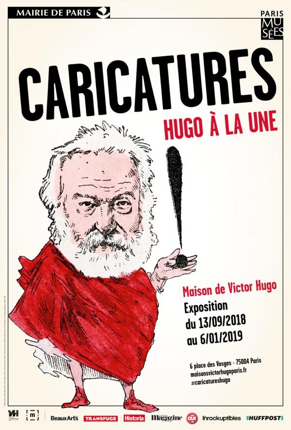 Caricatures : Hugo à la Une à la Maison Victor Hugo