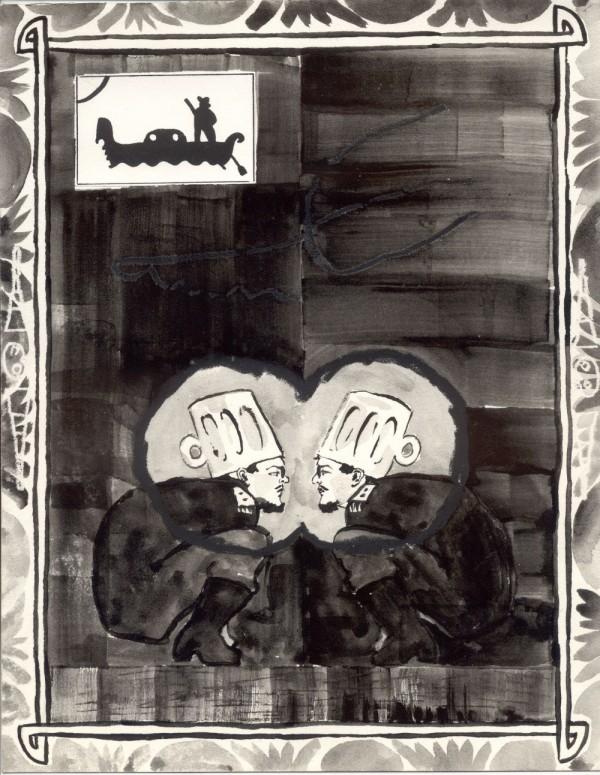 Roee Rosen, The Blind Merchant, 1989-1991.