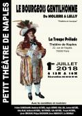 Le Bourgeois gentilhomme au Théâtre de Naples