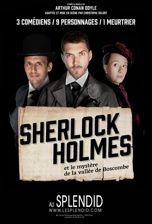 Sherlock Holmes et le mystère de la vallée de Boscombe au Splendid
