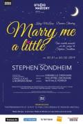 Marry Me a Little au Théâtre Marigny