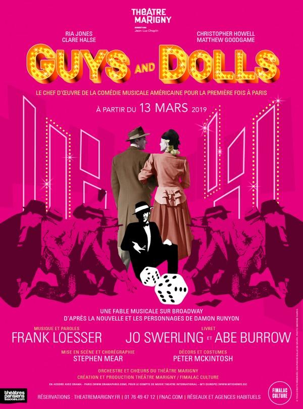 Guys and Dolls au Théâtre Marigny