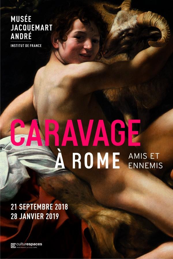 Caravage à Rome au Musée Jacquemart-André