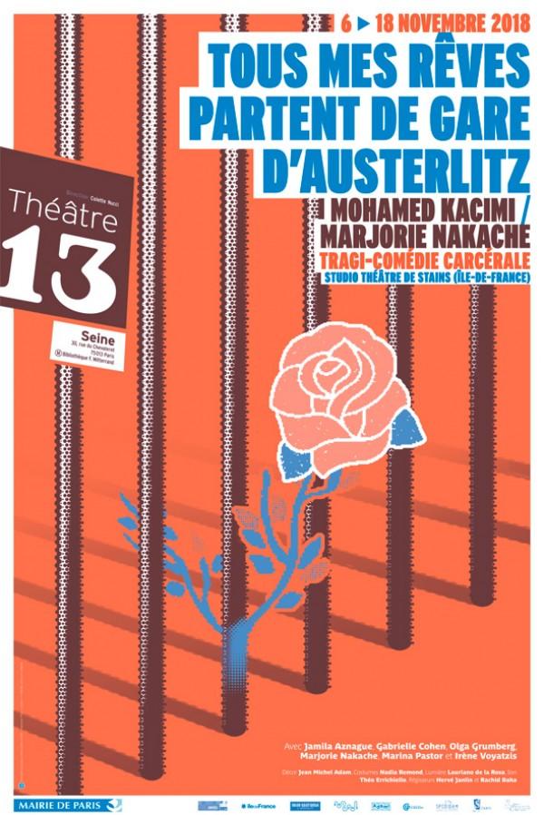 Tous mes rêves partent de Gare d'Austerlitz au Théâtre 13