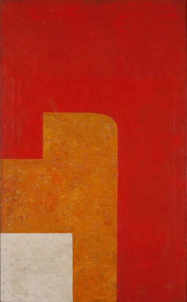 Wladyslaw Strzeminski, Composition architectonique 13c, 1929, Muzeum Sztuki, Lodz.