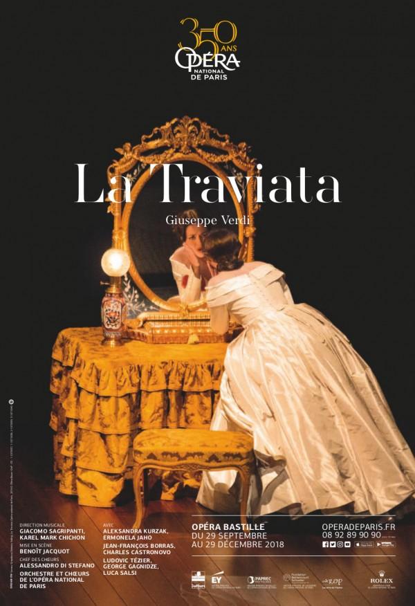 La Traviata à l'Opéra Bastille