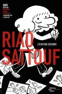 Riad Sattouf, L'écriture dessinée à la BPI