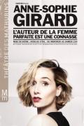 Anne-Sophie Girard au Théâtre des Mathurins