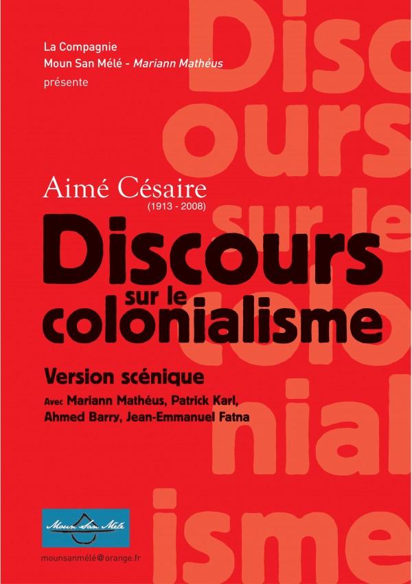 Discours sur le colonialisme au Théâtre de l'Épée de Bois