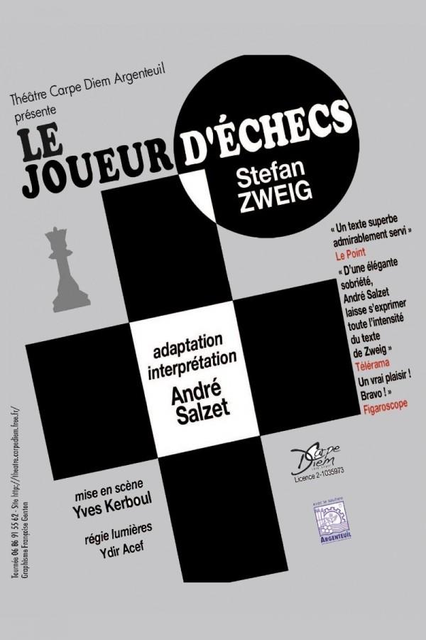 Le Joueur d'échecs au Théâtre de l'Épée de Bois