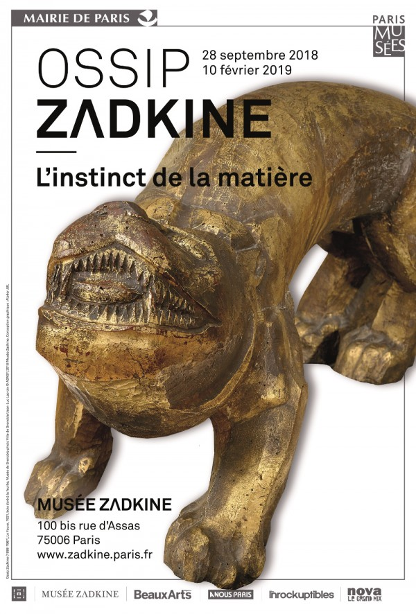 Ossip Zadkine, L'instinct de la matière au Musée Zadkine