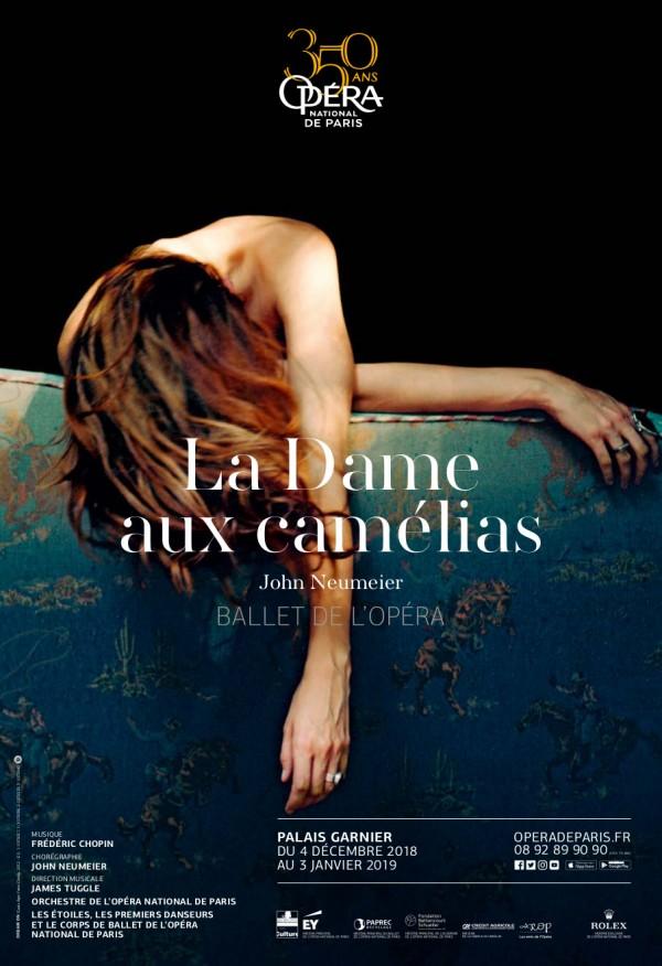 La Dame aux camélias - Ballet de John Neumeier à l'Opéra Garnier