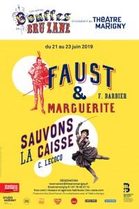 Faust et Marguerite / Sauvons la caisse au Théâtre Marigny