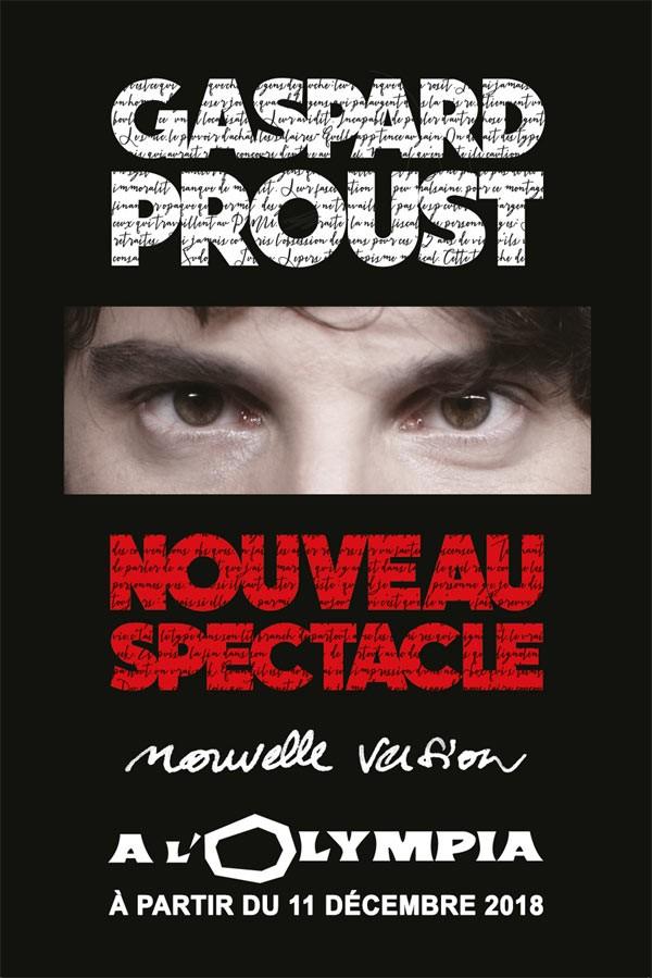 Gaspard Proust à L'Olympia