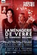 La Ménagerie de verre au Théâtre de Poche-Montparnasse