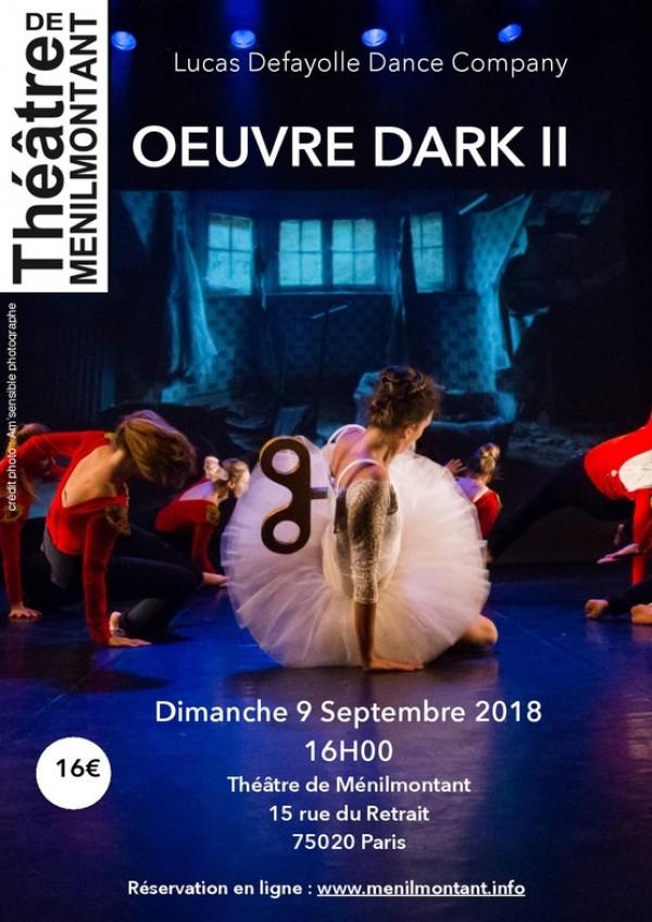 Œuvre Dark II au Théâtre de Ménilmontant