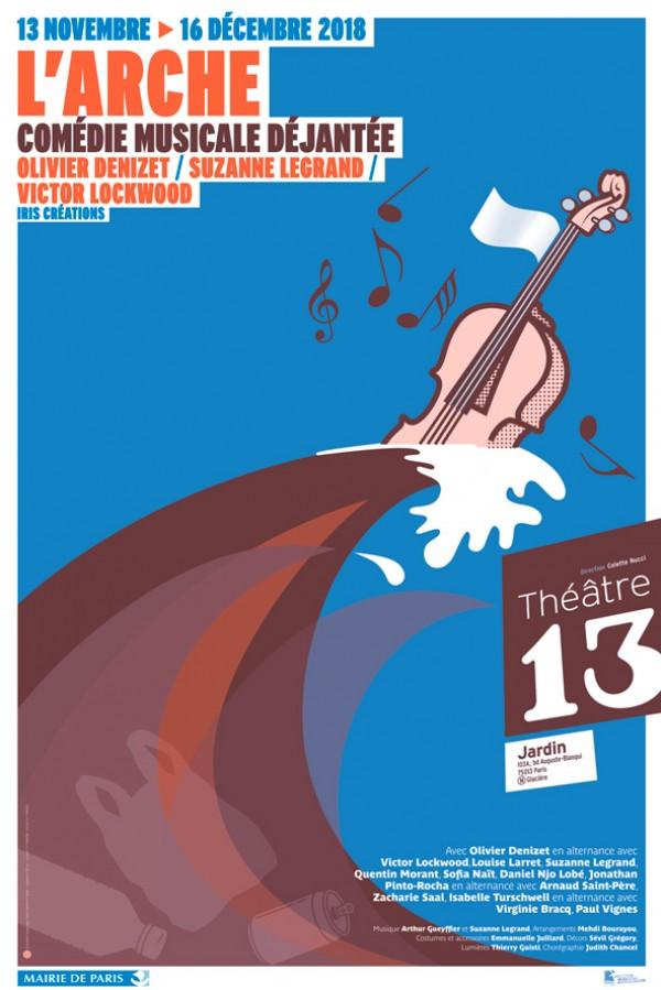 L'Arche au Théâtre 13
