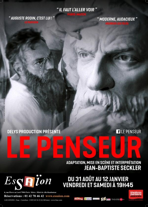 Le Penseur au Théâtre L'Essaïon