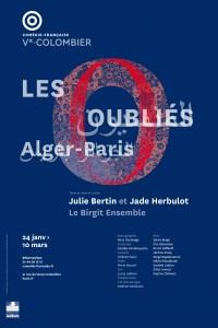 Les oubliés (Alger-Paris) à la Comédie-Française - Vieux-Colombier