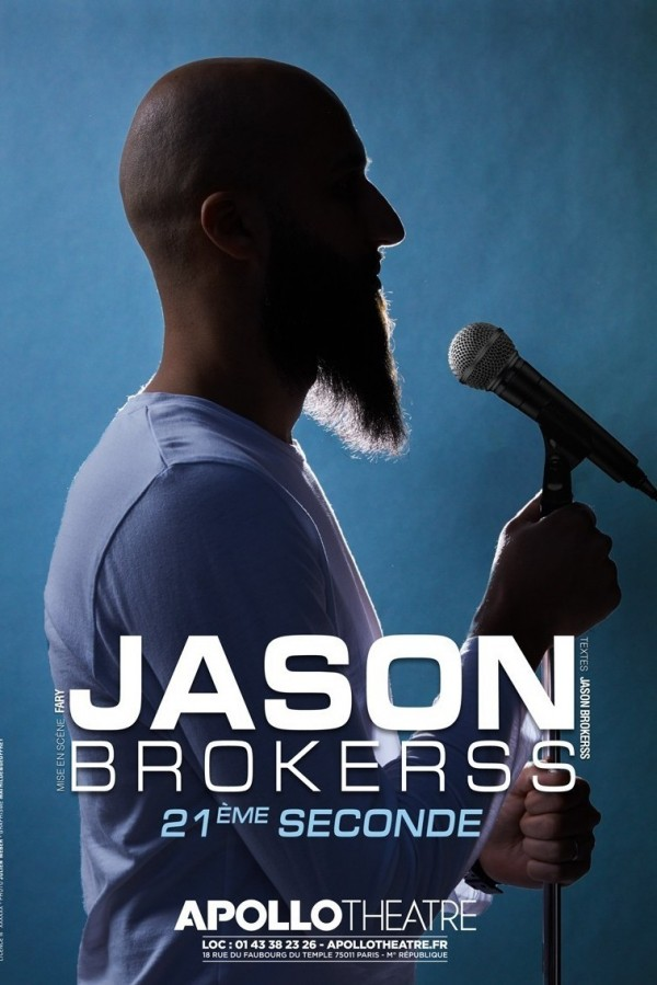 Jason Brokerss à l'Apollo Théâtre