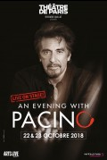 An Evening with Pacino au Théâtre de Paris
