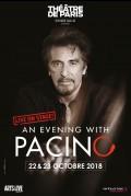 An Evening with Pacino au Théâtre de Paris