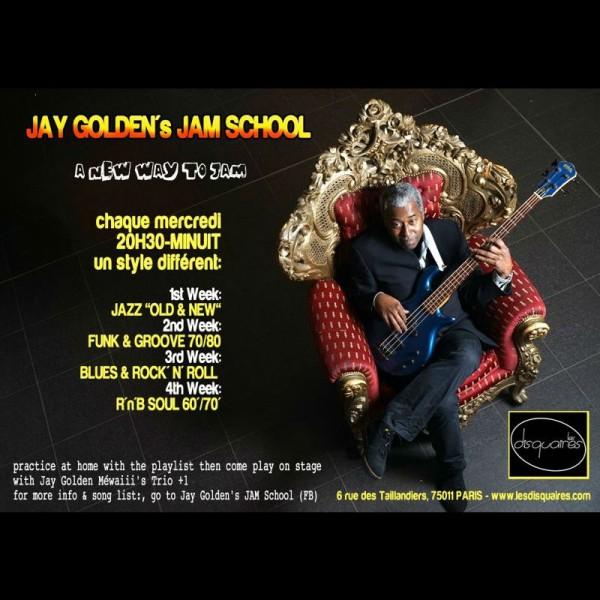 Jay Golden's Jam Scool aux Disquaires