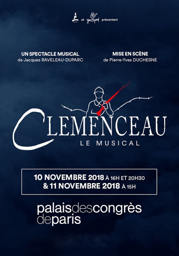 Clemenceau, le musical au Palais des Congrès de Paris