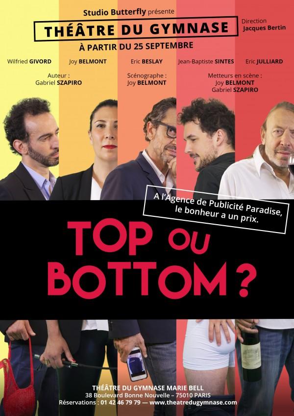 Top ou Bottom ? au Théâtre du Gymnase
