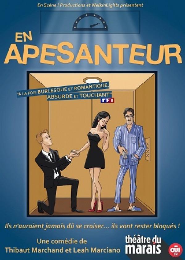 En apesanteur au Théâtre du Marais