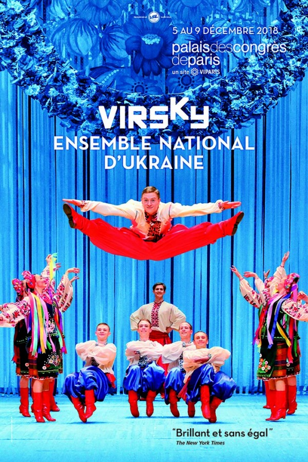 Virsky - Ensemble National d'Ukraine au Palais des Congrès de Paris