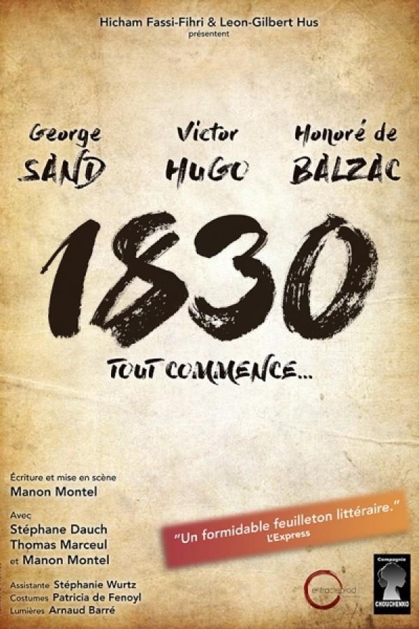 1830, tout commence... au Théâtre L'Essaïon