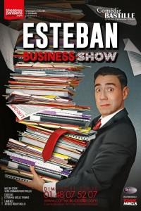 Esteban : Business Show à la Comédie Bastille