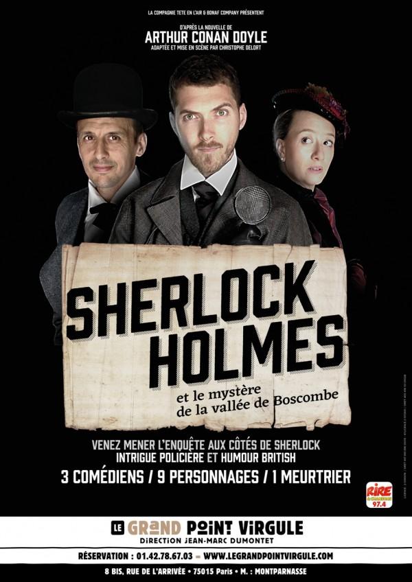 Sherlock Holmes et le mystère de la vallée de Boscombe au Grand Point Virgule