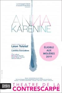 Anna Karénine au Théâtre de la Contrescarpe