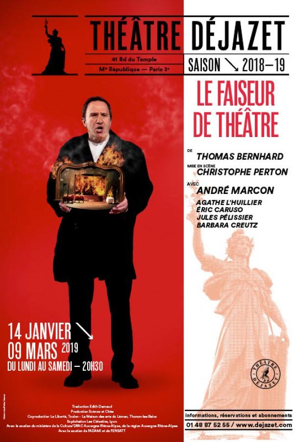 Le Faiseur de théâtre au Théâtre Déjazet