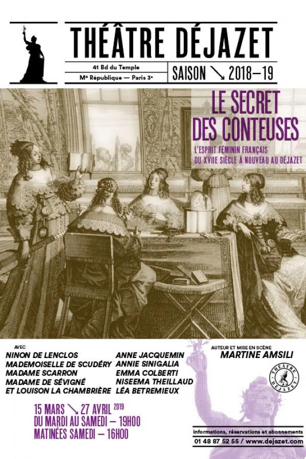 Le Secret des Conteuses au Théâtre Déjazet