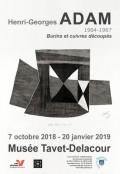 Henri-Georges Adam (1904-1967) au Musée Tavet-Delacour