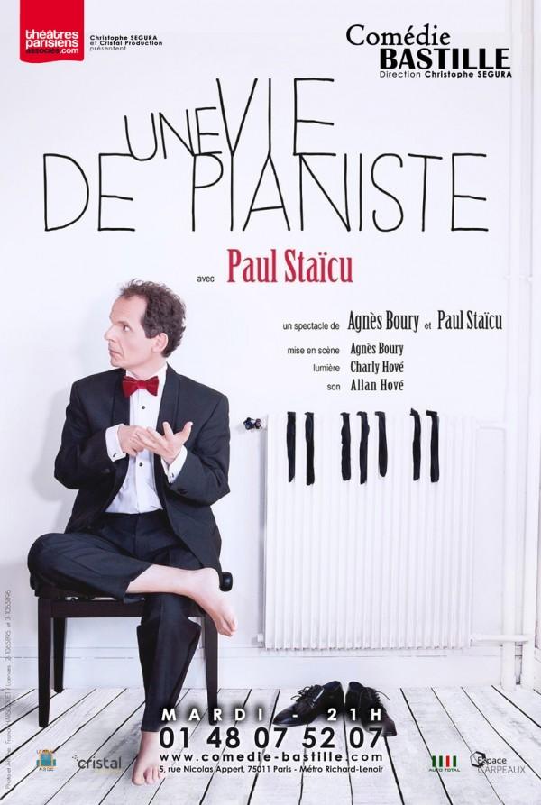 Une vie de pianiste : Paul Staïcu à la Comédie Bastille