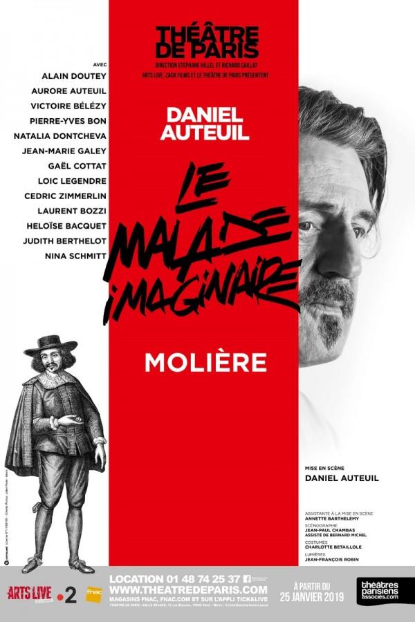Le Malade imaginaire au Théâtre de Paris