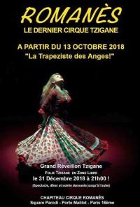 La Trapéziste des anges ! au Cirque Romanès