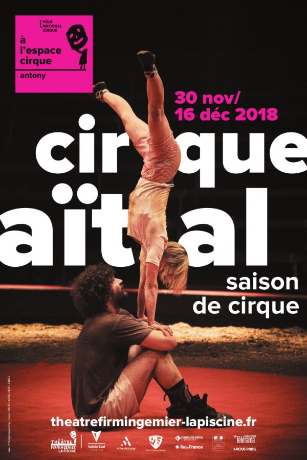 Saison de cirque - Cirque Aïtal - Affiche