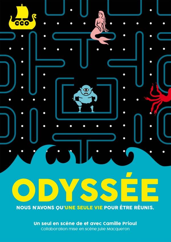 Odyssée au Théâtre Montmartre Galabru