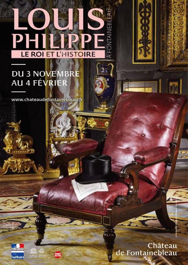 Louis-Philippe à Fontainebleau au Château de Fontainebleau