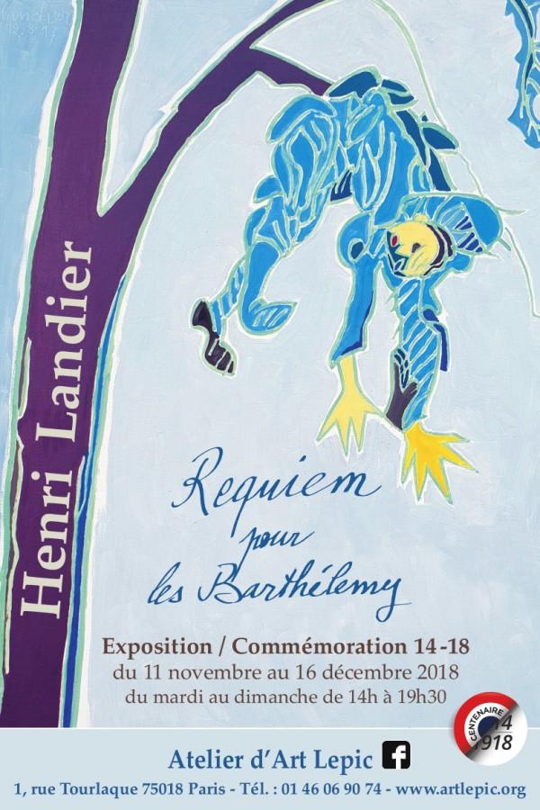 Requiem pour les Barthélemy à l'Atelier d'Art Lepic