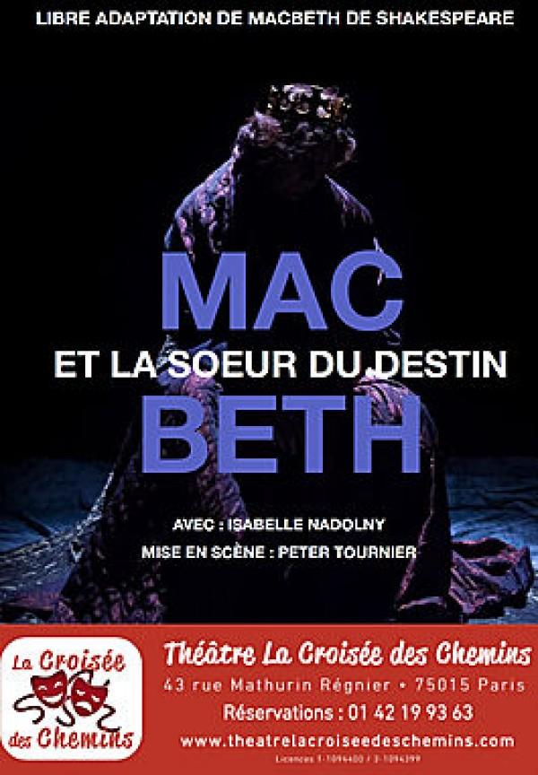 Macbeth et la sœur du destin au Théâtre La Croisée des Chemins