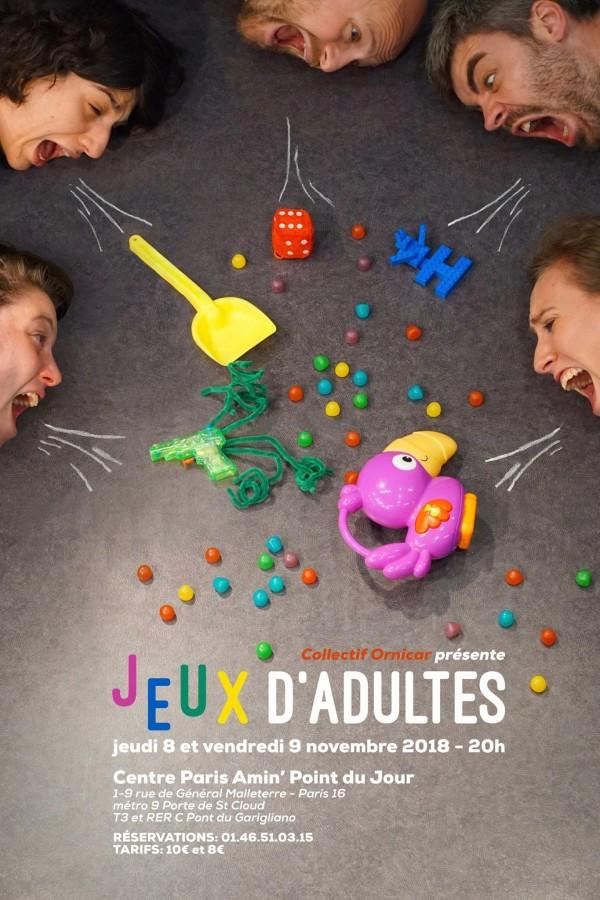Jeux d'adultes au Centre d'animation Le Point du Jour