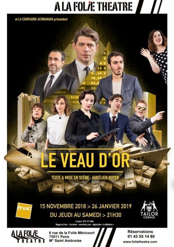 Le Veau d'or à la Folie Théâtre