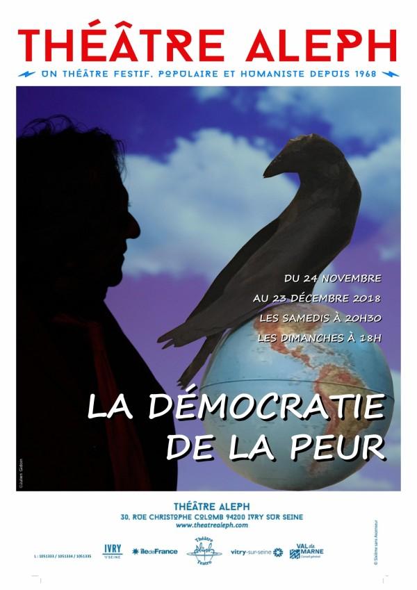 La Démocratie de la peur au Théâtre Aleph