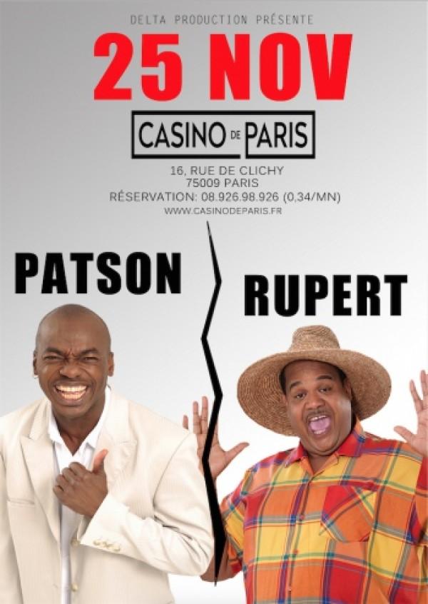 Jean-Yves Rupert & Patson au Casino de Paris